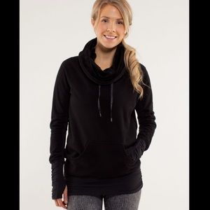 Lululemon don't hurry be happy fleece pullover